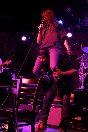 Robert Randolph & the Family Band, Brooklyn Bowl, 4-1-14 016